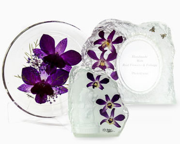 Unique Orchid Gifts Orchid Decorative Ornament Singapore