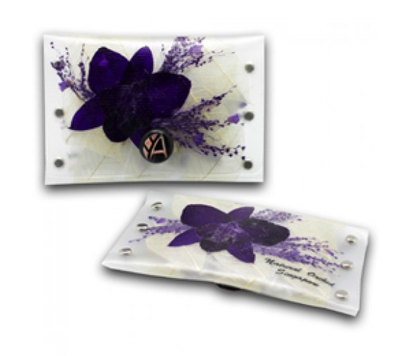 Preserved Orchid Purse Short