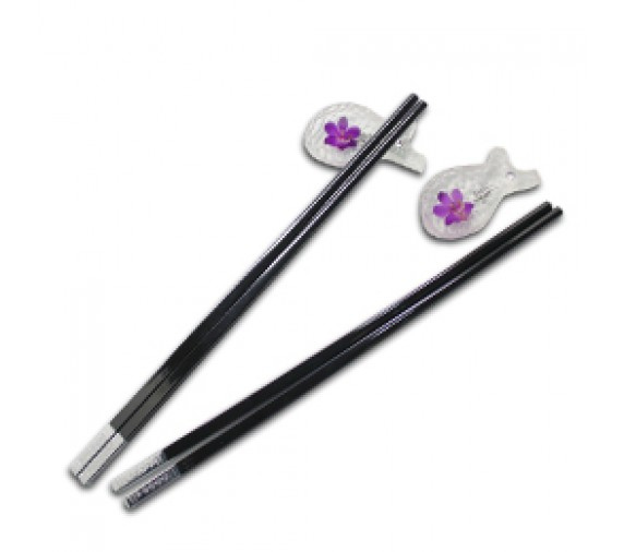 Orchid Chopstick Set - Fish