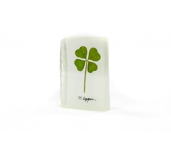 Paperweight Four Leaf Rectangle