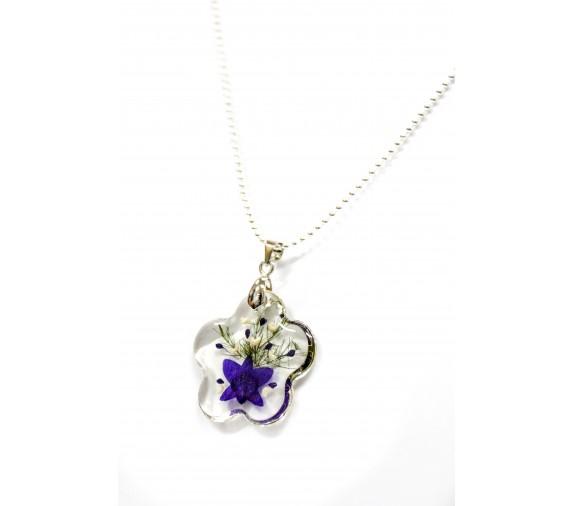 Orchid Pendant - Flower