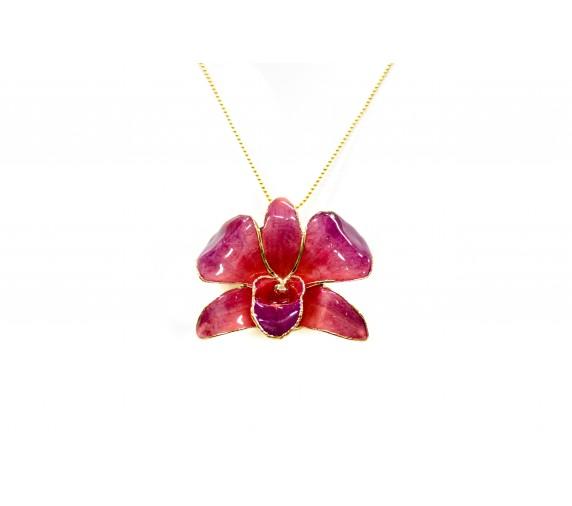 Orchid Pendant/Brooch