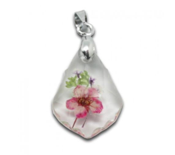 Flora Pendant W Crystal - Crest