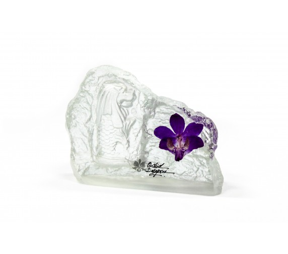 Paperweight Orchid Small