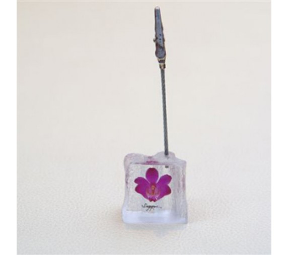 Card Holder Orchid - Square