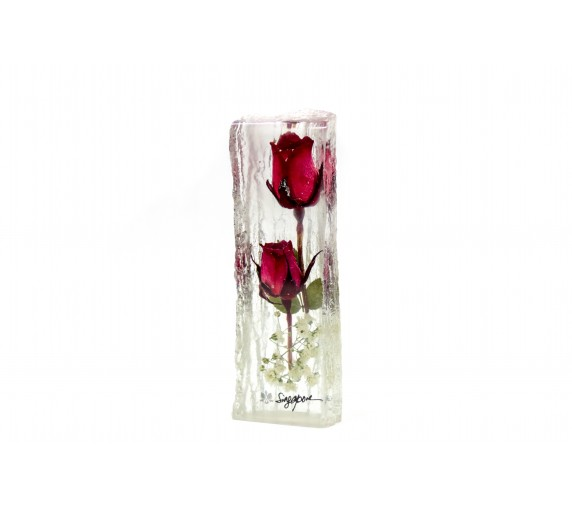 Paperweight Rose Small