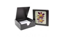 Pressed Orchid Memo Holder