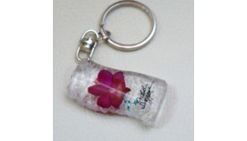 Keychain Orchid - S - Shape