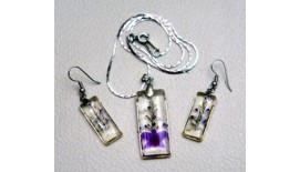 Orchid Pendant / Earring (S)