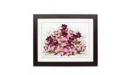 """Pressed Orchid Frame 16""""X20"""""""
