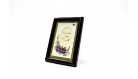 "Pressed Orchid Photo Frame 4""X 6"""