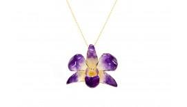 Orchid Pendant / Brooch