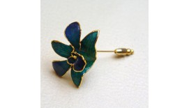 Orchid V-Pin Brooch S